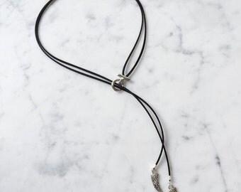 Jaci - Suede Necklace