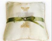 Zelda Inspired Royal Wedding Ring Pillow