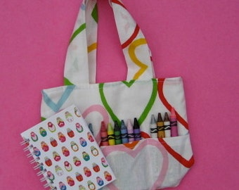 Heart Crayon Bag