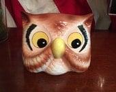 Vintage Eyeglass Holder Owl