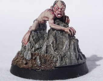Gollum. Lord of the Rings Tabletop Character.