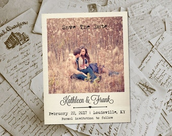 "Wedding Save The Date Magnets - JavesHill  Photo Personalized 4.25""x5.5"""