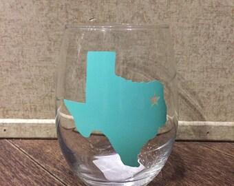 East Texas Wine Glass