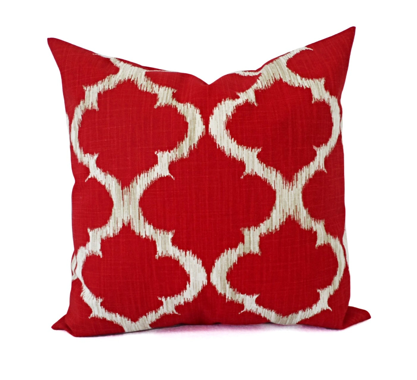 Throw Pillows Girly : Deep Red Pillow Covers Red and Grey Throw Pillows Pillow