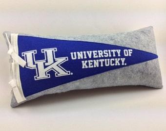 University of Kentucky Wildcats Pennant Pillow