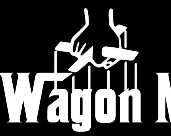 "The Wagon Mafia 12"" Vinyl Decal"