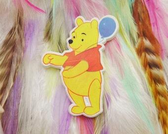 Vintage Retro 80s 90s Winnie The Pooh Bear A A Milne Pin Badge