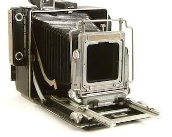 Vintage Busch Pressman 4x5 Folding Camera Large Format Camera Decor (C1047)
