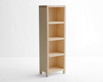 "bookcase 610-03 * choose color * furniture for 10-11"" and 11-12"" dolls (momoko blythe barbie fashion royalty) - 1/6 bookshelf for Barbie"