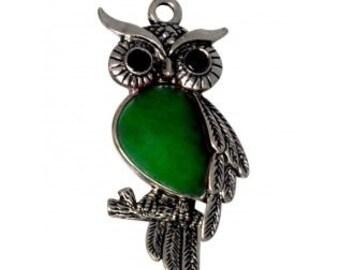 45mm Gorchess Owl Charm Pendant 1 pcs