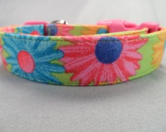 Hippie Daisy Dog Collar