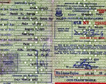 1967 Republic of the Philippines Driver's License Issued to Naval Personnel