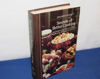 READER'S DIGEST COOKBOOK Secrets of Better Cooking 1977