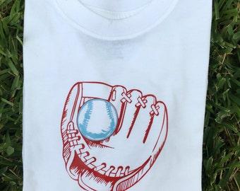 Boy baseball shirt