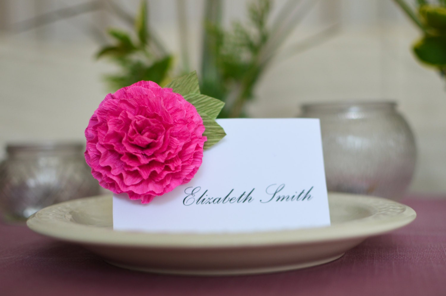 Wedding place cards escort cards wedding name cards custom for Personalized wedding place cards