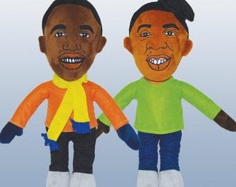 Kanye West & Jay Z Dolls