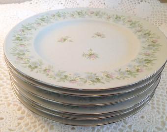 Johann Haviland Forever Spring Dessert Plates - Set of 6