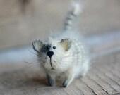 Gatto amante carina di dono farcito animali fatti a mano della peluche kawaii gatti gattino arredamento casa regalo kitty bambola in miniatura figurina regalo di compleanno per lei