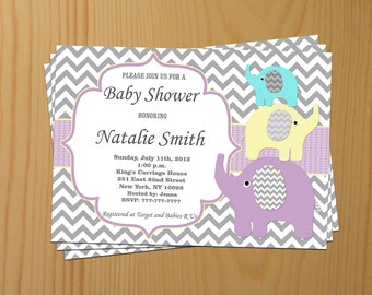 Baby Shower Invitations Gender Neutral Baby Shower Invitation Baby Shower Invites Editable File - FREE Thank You card (94) download