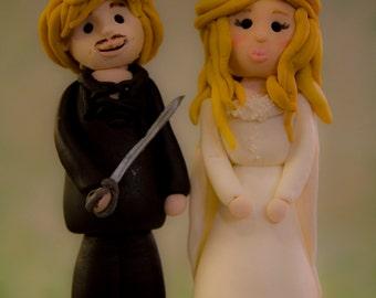 Princess Bride cake topper