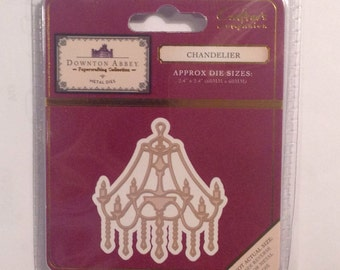 DOWNTON ABBEY Chandelier metal die cc53