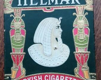 Helmar Cigarette Box Antique 1900s Turkish
