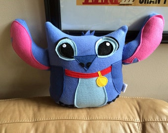 Stitch Owl Plushie-Inspired by Lilo and Stitch- Blue Owl Plushie inspired by the Character Stitch