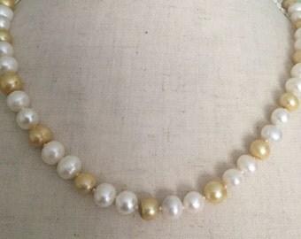 Gold & cream color Pearl