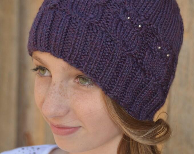Elise Owl Hat