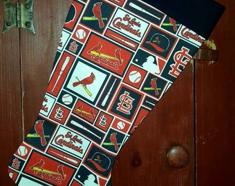 Cardinals Christmas Stocking