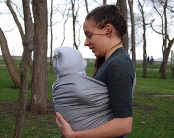Sale!Baby Sling Ring ,Baby Carrier, Sling,Baby Wrap, Baby Sling,Gray,Sling Sale!