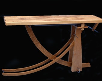 Fine furniture exercise bench