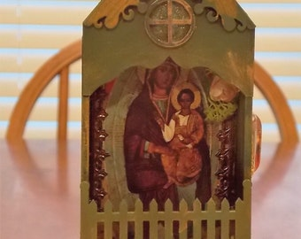 Blessed Mother and Baby Jesus Shrine