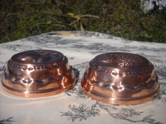Two Blancmange Or Jello Mold Mould French By Normandykitchen