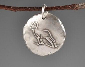 Bighorn Sheep totem-bighorn sheep talisman-charm-spirit animal-power animal