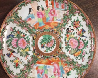 "Rose Medallion 8"" Salad Plate"