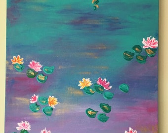 Water lillies - original art