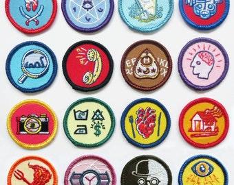 Alternative Scouting for Girls and Boys Merit Badges - FULL SET OF 16