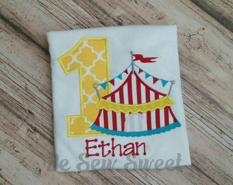 Circus or carnival themed birthday Shirt