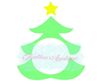 "Shop ""monogram christmas tree svg"" in Sewing & Needlecraft Supplies"