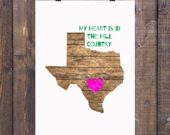 My Heart is in the Hill Country