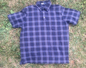 Polo by Ralph Lauren Short Sleeve Navy Flannel