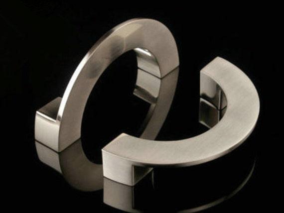 96 mm silber m bel griffe griff k che kabinett kn pfe. Black Bedroom Furniture Sets. Home Design Ideas