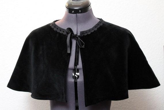 Victorian Wraps, Capes, Shawl, Capelets Gothic/steampunk Cape Cape shoulder Cape coat Victorian medieval $50.99 AT vintagedancer.com