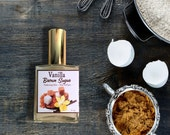 Vanilla Brown Sugar Hair Perfume - Hair Mist, Argan Hair Gloss or Argan Hair Milk with Silk Protein and Vitamin B