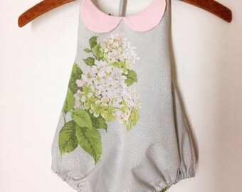 12m Floral Vintage Inspired Sun Suit