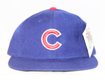 Vintage Deadstock Chicago Cubs New Era MLB Fitted Hat 6 3/4