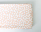 Changing Pad Cover Blush Inky Spots. Change Pad. Changing Pad. Minky Changing Pad Cover. Blush Changing Pad Cover.