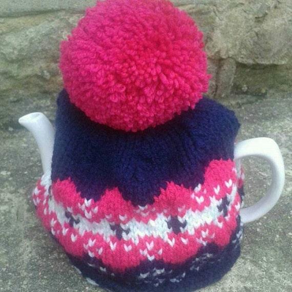 Knitted Tea Cosy handmade tea cozy teapot cover tea cosy