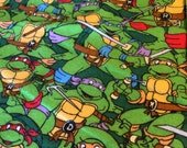 "TMNT Weighted Blanket 35""x42"", 4-6 pounds"
